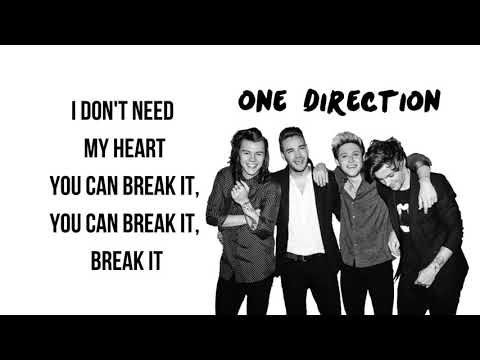 One Direction Never Enough (Lyrics)