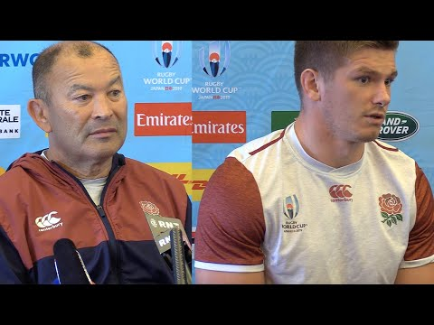 Eddie Jones claims England were spied on in training || England vs New Zealand Rugby World Cup