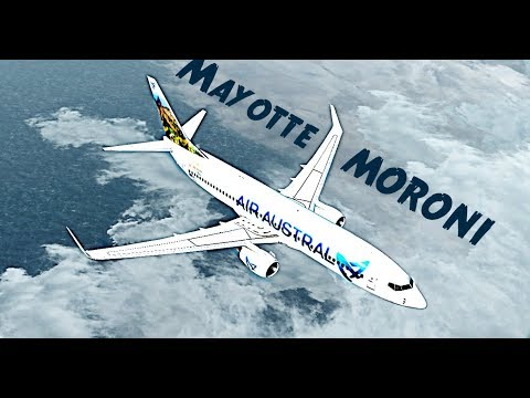 FSX   Mayotte - Comores  ✈ B737NGX Air Austral
