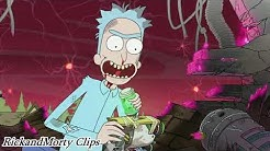 Rick and Morty Clip | Die Enstehung der Portal Gun [German]