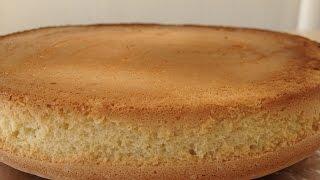 Бисквит классический - Очень Простой Рецепт (У Вас Получится 100%) | Sponge Cake, English Subtitles