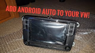 Video Add Android Auto to Your VW - RCD330 Plus download MP3, 3GP, MP4, WEBM, AVI, FLV Agustus 2018