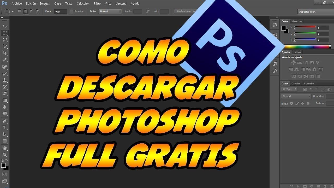 descargar photoshop gratis para siempre