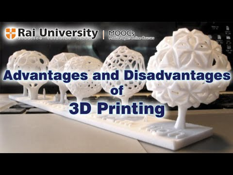 3d printing advantages and disadvantages Selective laser sintering disadvantages: sls printed parts and engineers to consistently produce the best mechanical design and solution for all 3d printing.