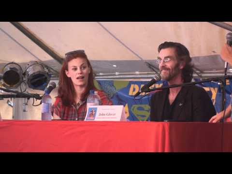 2012 WGBS Superman Celebration Q A Cassidy Freeman and John Glover
