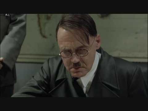 Hitler finds out Ronaldo left United{HQ}