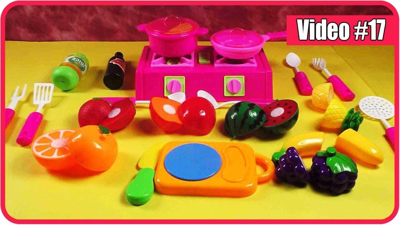 Mainan Masak Masakan Anak Perempuan Main Dapur Masak Fun