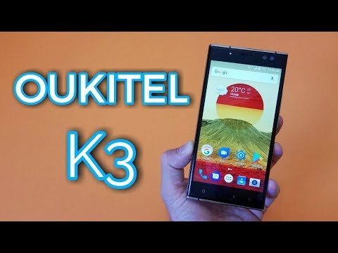 Oukitel K3 Smartphone Review - 4 Cameras, 6000mAh Battery