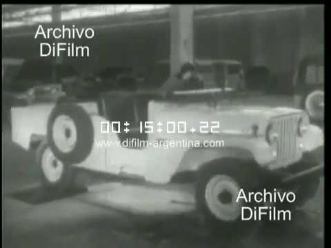 Asi se fabrica un vehiculo argentino - Pelicula Documental 1951