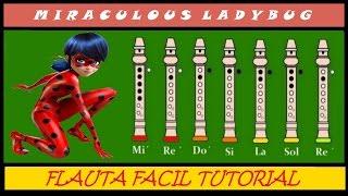 Miraculous Ladybug en Flauta Dulce