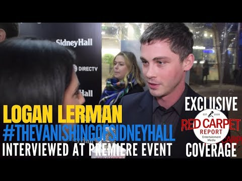 "Logan Lerman ed at the Premiere of DIRECTV's ""The Vanishing of Sidney Hall"" NowSteaming"