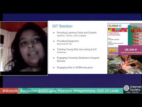 GiT -  Diversity and Inclusion - Internet Society Asia-Pacific