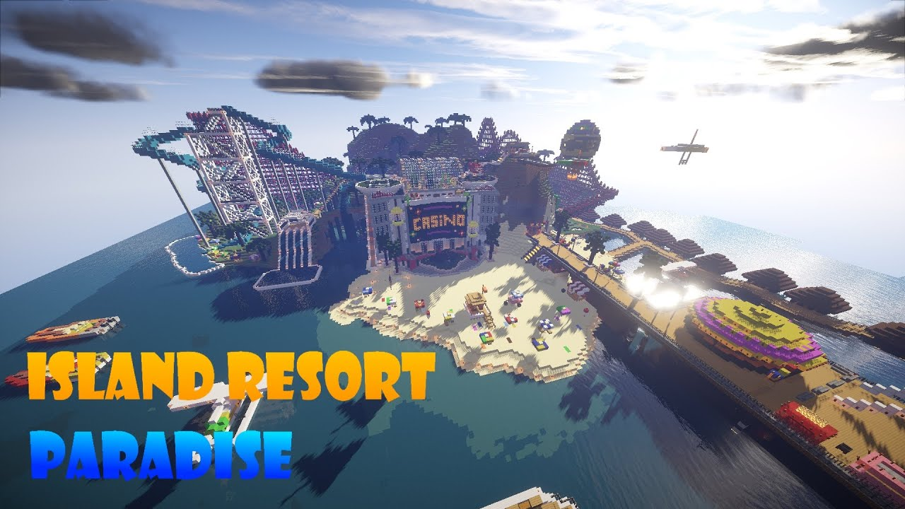 Paradise Resort Minecraft Map
