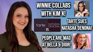What's Up in Makeup NEWS! Winnie & Kim K + Tarte vs. Natasha Denona & MORE!
