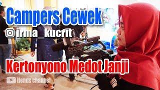 Camper Cewek ifends pro Lagi Cek sound
