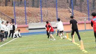 2012 디미고 체육대회 3학년 계주영상