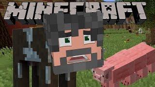Minecraft : Pig-erpillar!?! - Farm Hunt Minigame