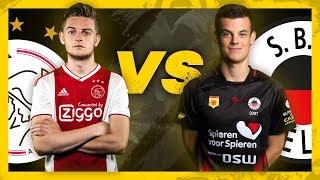 DANI HAGEBEUK (AJAX) vs BAS QUIST (SBV EXCELSIOR) | Kwartfinale | PS4 | eDivisie