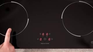Варочная поверхность электрическая PERFELLI HI 610 BL  видео обзор