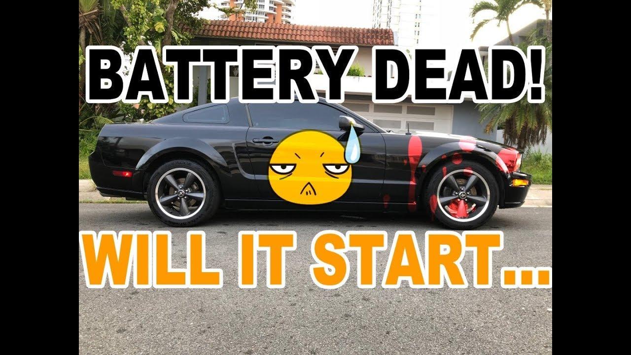 Ford Mustang Gt Bullitt Wont Start Best Car Battery Charger Youtube