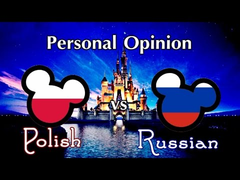 Personal Opinion: Polish vs Russian Voices