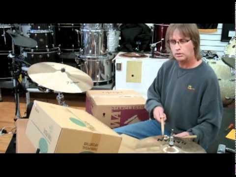 Ellis Drum Shop's Corrugated Cardboard Drum Kit