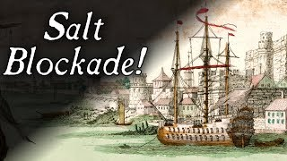 Revolutionary War Salt Shortage