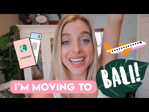 I'm moving to Bali, Indonesia! | Part 1 | Goodbye Los Angeles, Hello Bali!