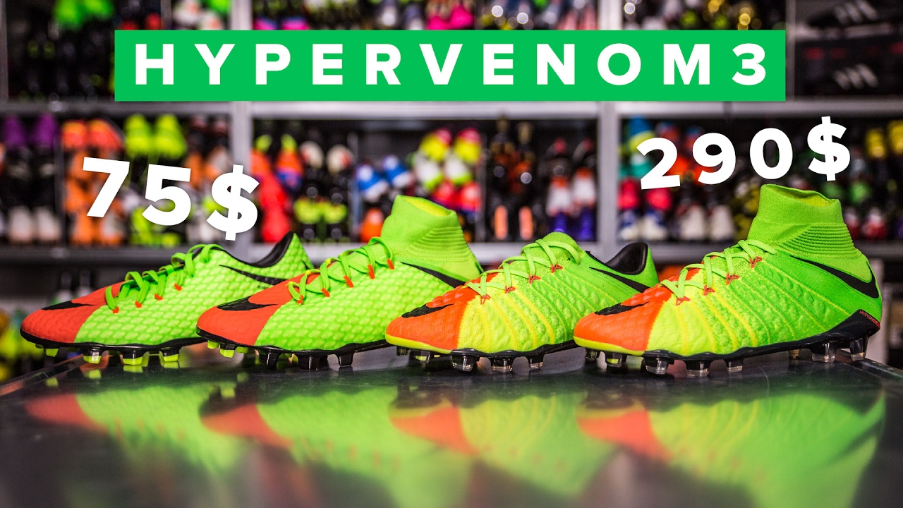 87824b8d8d3 CHEAP vs EXPENSIVE Hypervenom 3 Explained - YouTube
