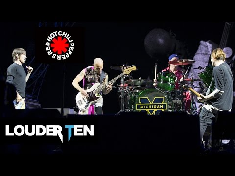 Top 10 Red Hot Chili Peppers Songs - Louder Ten