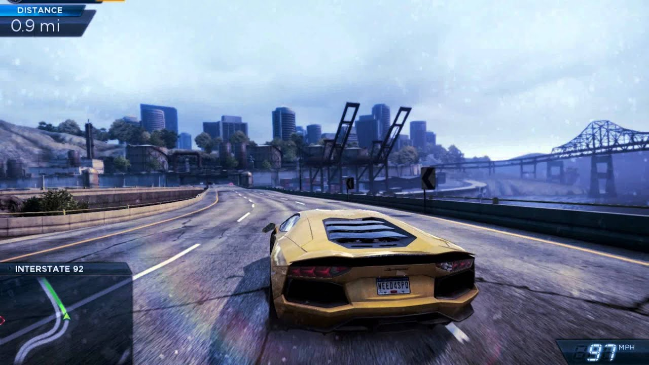 nfs most wanted gameplay by sacrem youtube