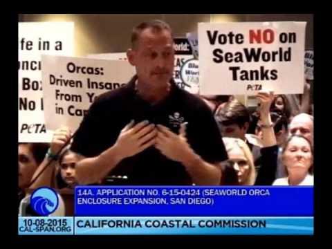 Sea Shepherd Conservation Society @ The California Coastal Commission Hearing October 8 2015