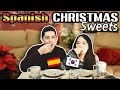 KOREAN GIRL TRIES SPANISH CHRISTMAS SWEETS FOR THE FIRST TIME