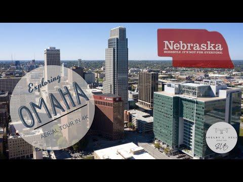 Aerial Tour of Omaha Nebraska in 4K