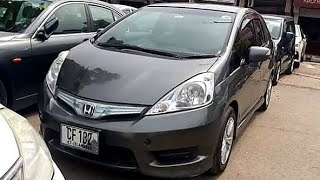 Honda FIT Shuttle Hybrid Review | Perfect Family Car