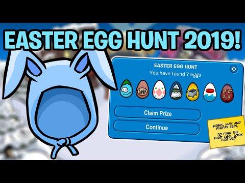 Easter Egg Hunt Locations 2019! (Club Penguin Rewritten)