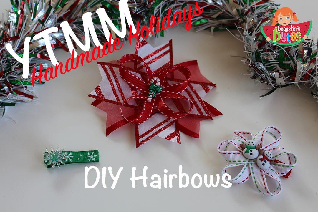 youtube premium - Diy Christmas Bows