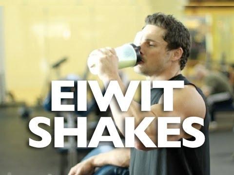 Eiwitshakes bouwen spieren!