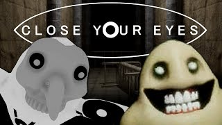 Close Your Eyes - A REAL EYE OPENER  (Full Playthrough / All Endings) Manly Let's Play