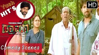 Yash's killing comedy in village | Kannada Comedy Scenes | Kannada Comedy Movie | Kwatle Sathisha