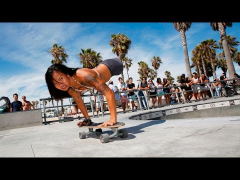 Legless Skateboarder Aims For Paralympic Glory
