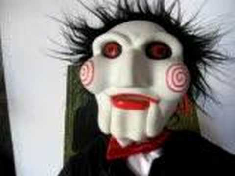 Jigsaw / SAW PLUSH TALKING 20 INCH DOLL - YouTube