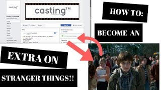 How to be on Stranger Things!! And find casting calls!!!