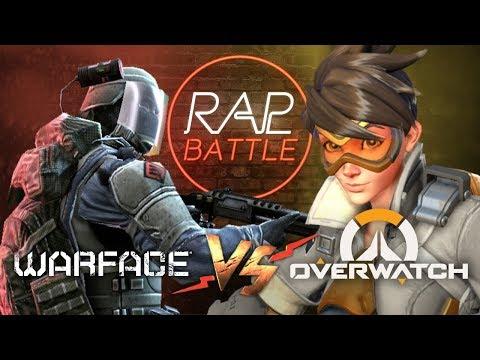 Рэп Баттл - Warface vs. Overwatch thumbnail