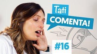 ENTRAR NA ÁGUA DEPOIS DE COMER FAZ MAL? | Tati Comenta #16