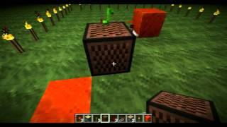 Нотные блоки: больше информации(Всем привет! С вами Mishkun и сегодня я расскажу вам немного о Нотных блоках (Note Block). А именно немного о подключе..., 2011-11-27T07:39:36.000Z)