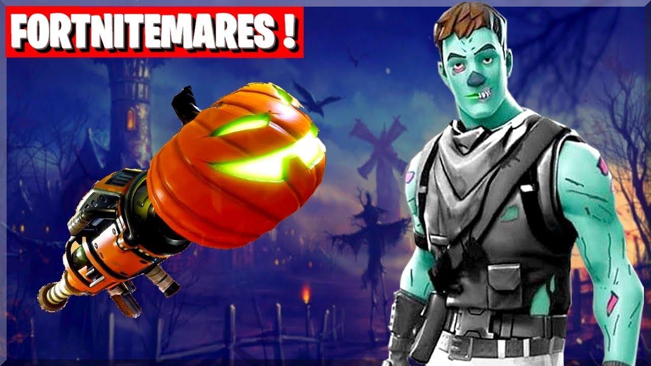 Ghoul Trooper Armes Halloween Sur Fortnite Battle Royale