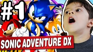 SONIC ADVENTURE DX #1 - PC - Gameplay Comentado em Português