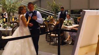 Michigan Live Wedding Painter: Grand Rapids Art Museum Wedding Entertainment