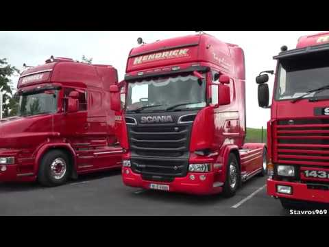 Biggest Truck Convoy in Ireland 'Truck Run 4 Katie' 2017 - Stavros969
